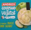 Gourmand & Végétal au lait de coco L'étonnant brassé pomme granny - Product