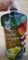 Mango Apple Pear purée - Produit - en