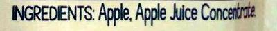 GoGo Squeez Apple Apple - Ingredients