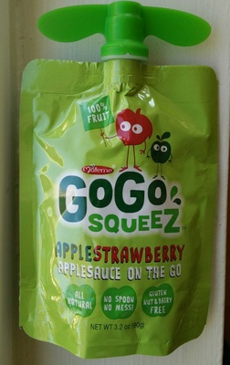 GoGo Squeez Apple Strawberry - Product