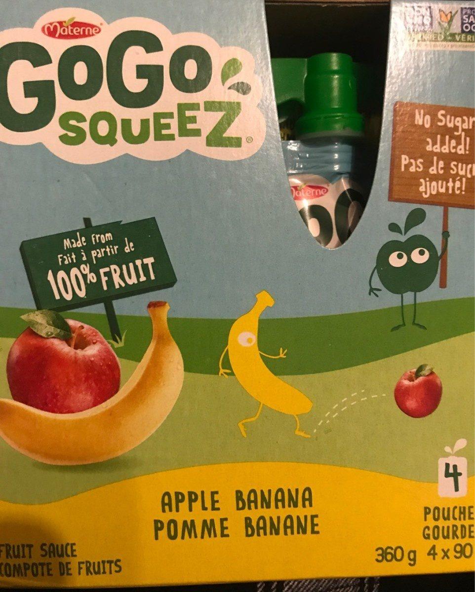 Compote De Pomme Et Banane - Product - fr
