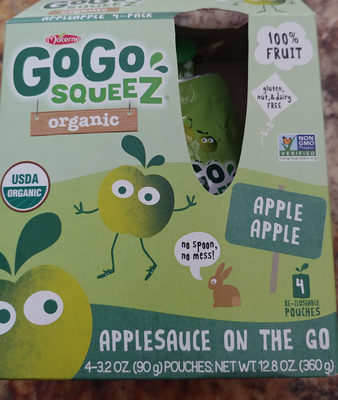 Applesauce on the go - Product - en