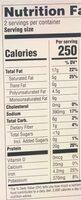 Burgee vegan - Nutrition facts - fr