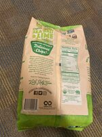 Sea salt & lime organic restaurant style tortilla chips - Nutrition facts - en