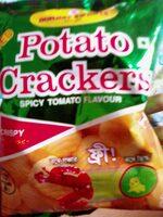 Potato crackers - Nutrition facts - en