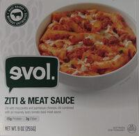 Evol, ziti & meat sauce - Product - en
