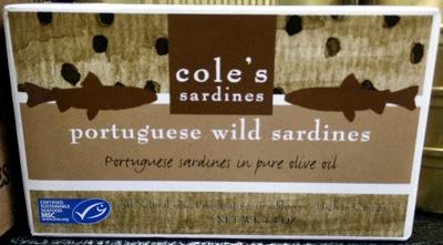 Portuguese Wild Sardines - Product