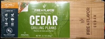 Cedar Grilling Planks - Product
