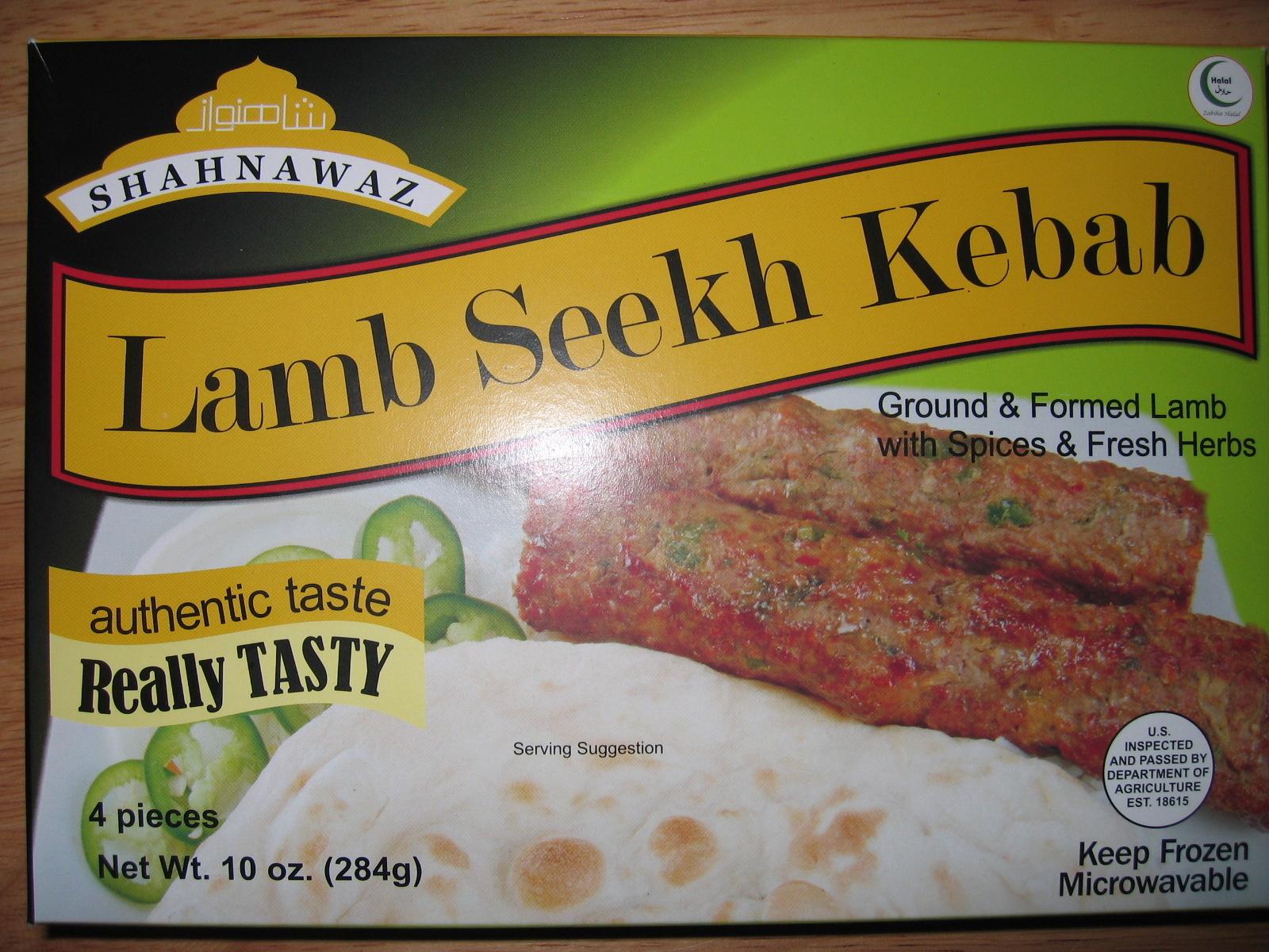 Lamb Seekh Kebab - Product - en