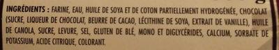 10 chocolatines - Ingrédients - fr