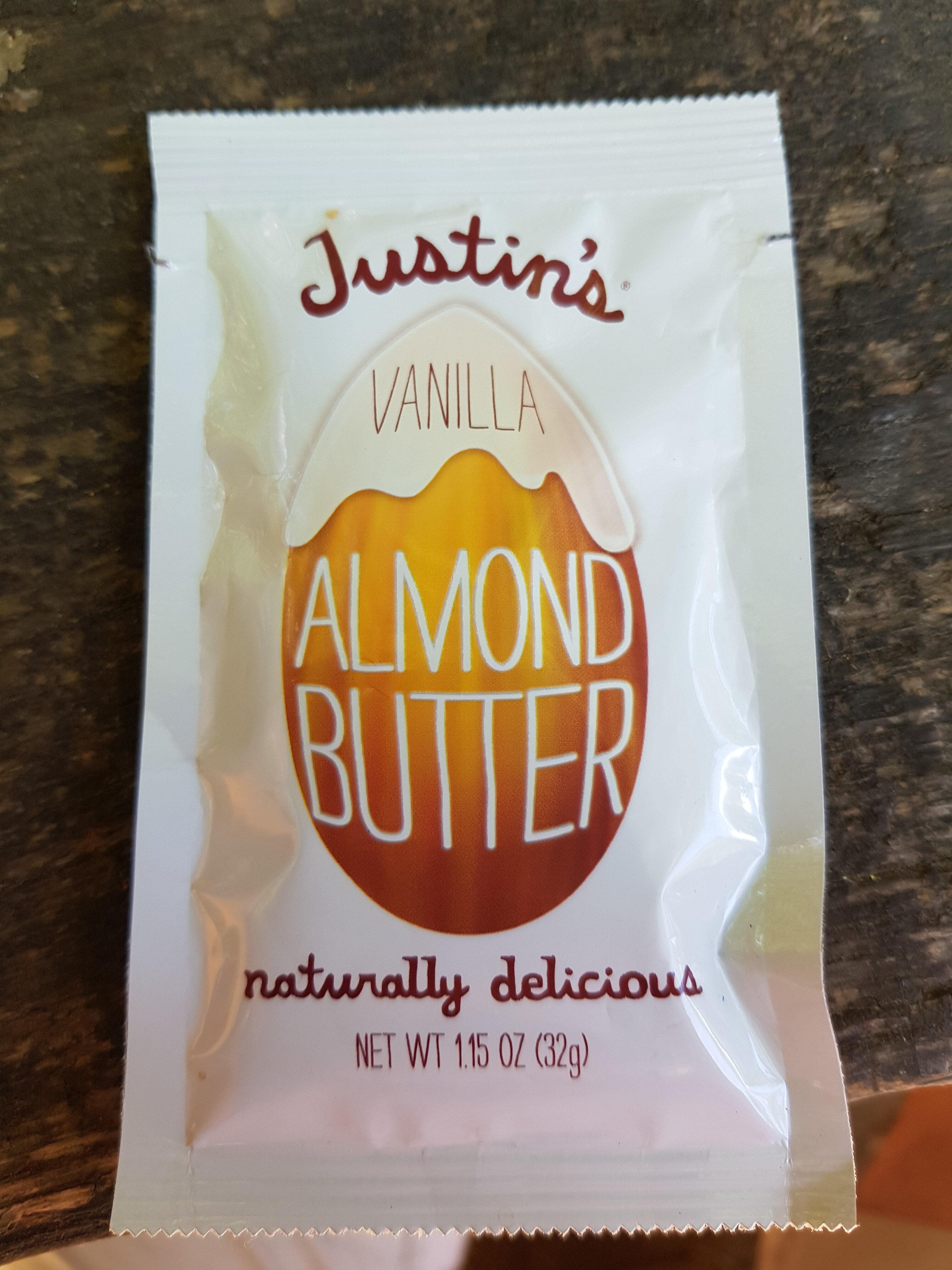 Almond Butter, Vanilla - Product - en