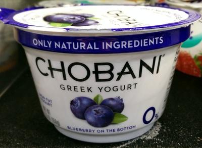 Greek Yogurt Blueberry on the bottom - Product