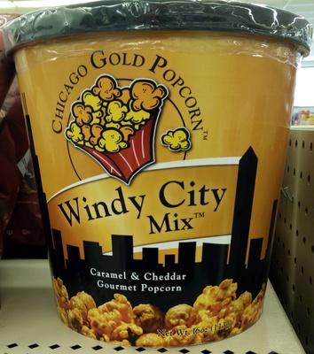 Windy City Mix Caramel & Cheddar Gourmet Popcorn - Product - en