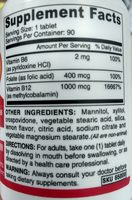 Vegan B12 - Ingredients