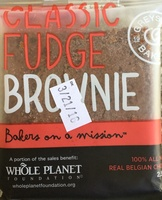 Classic Fudge Brownie - Product