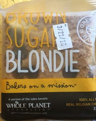 Brown sugar blondie - Product