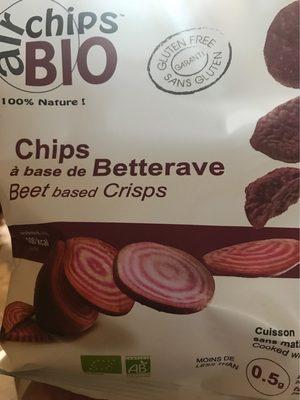 Chips à base de Betterave - Produit