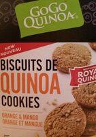 Biscuit de quinoa cookies orange et mangue - Product - fr