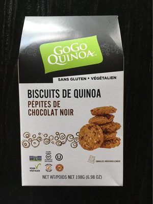 Quinoa Cookies Chocolate Chips - Produit - fr