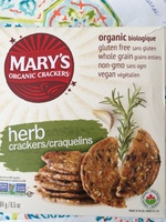 Organic herb crackers - Product