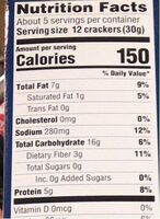 Super seed - Informations nutritionnelles - en