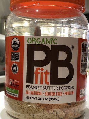Betterbody Foods PB Fit Usda Organic Powder, Peanut Butter - Product - fr