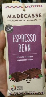 Expresso bean 44% milk chocolate - Product - fr