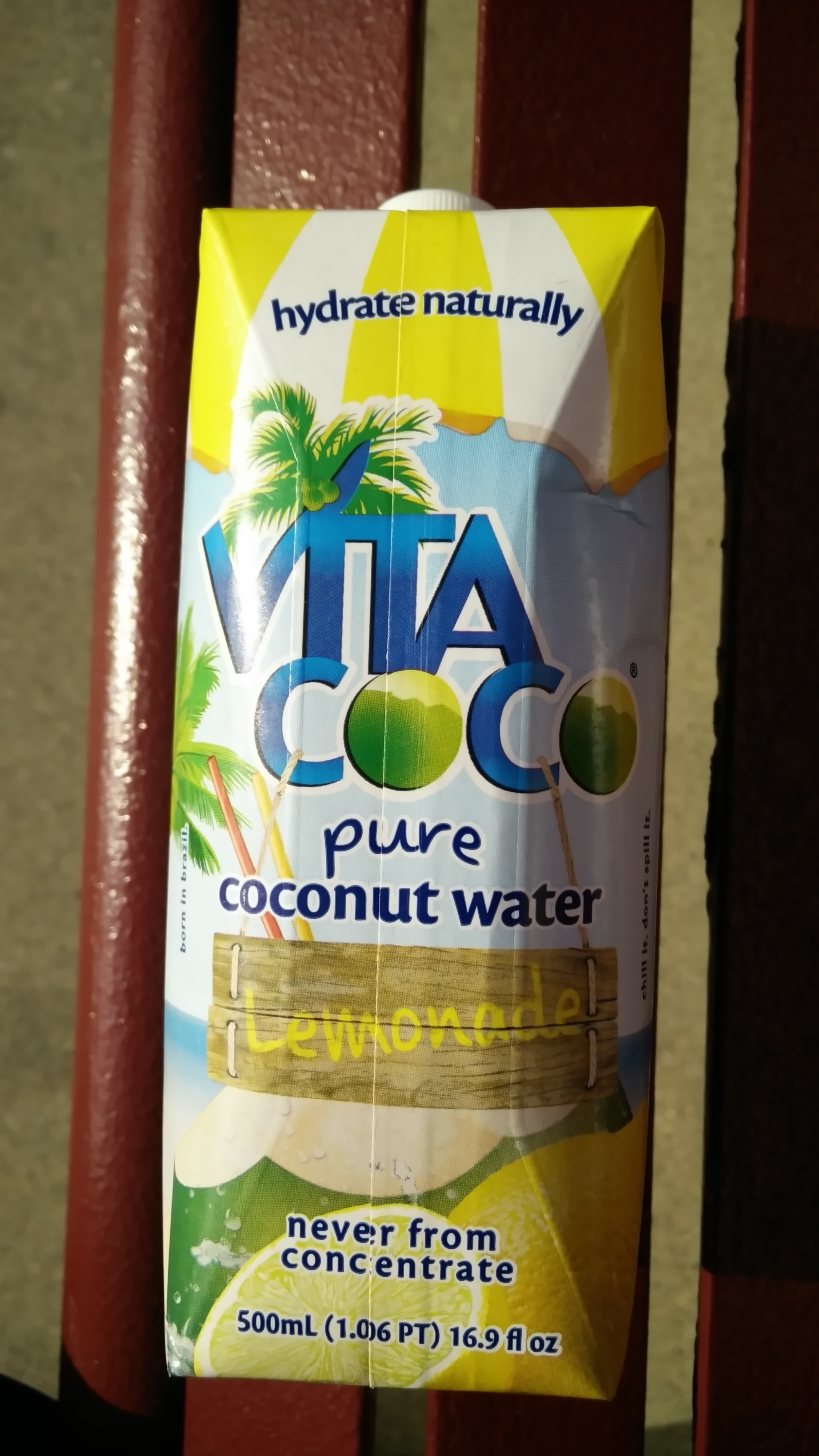 Pure Coconut Water Lemonade - Produit
