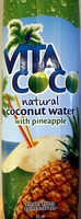 Natural Coconut Water with Pineapple - Product