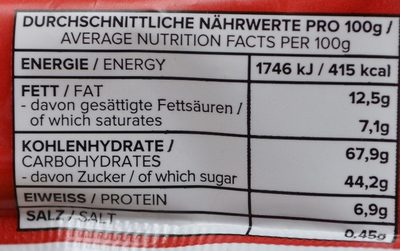 Jokerz - Nutrition facts - fr