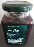 Cranberry Sauce - Product