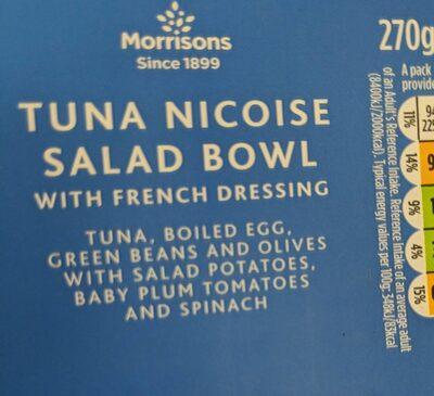 Tuna nicoise salad - Product