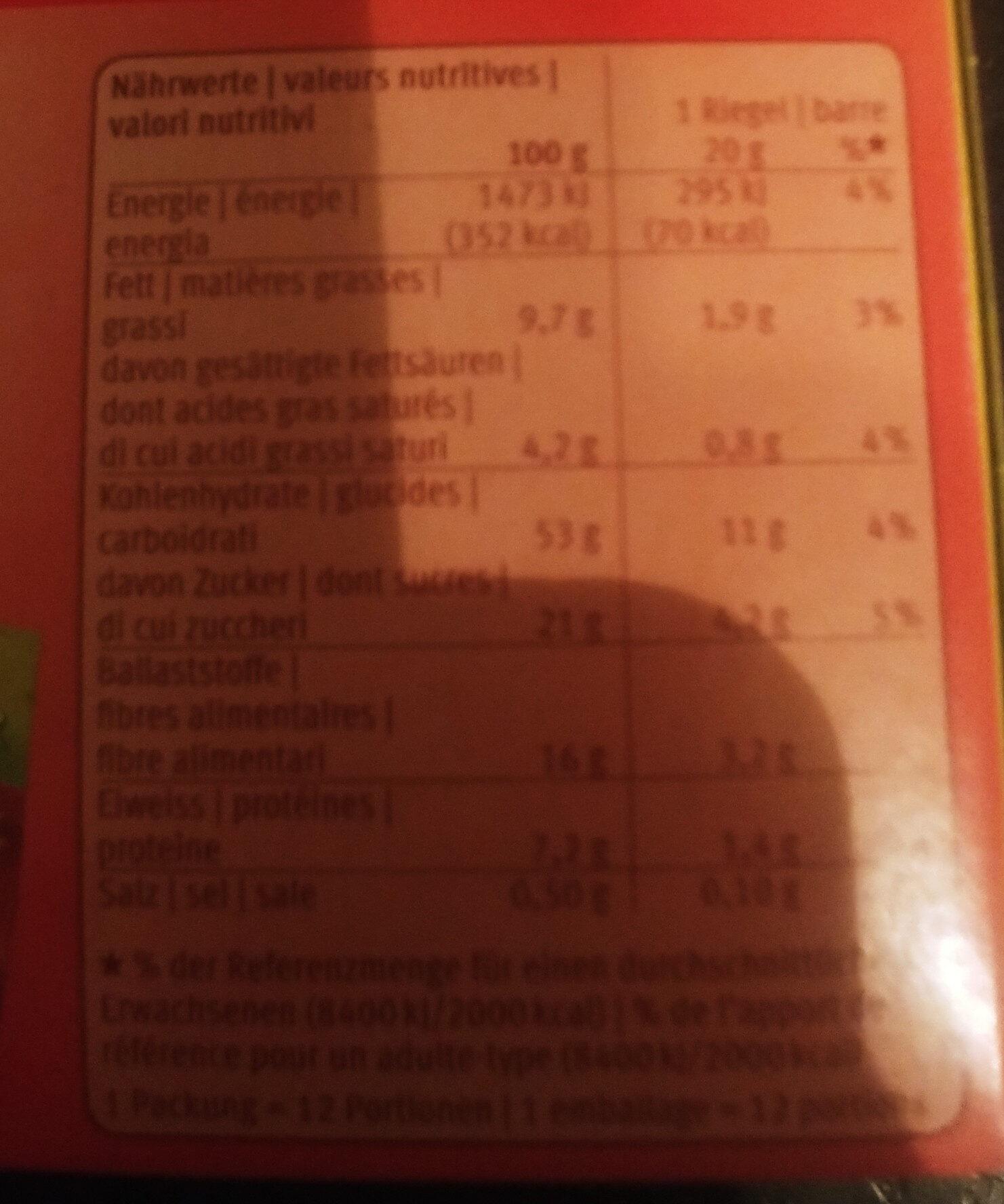 Farmer Soft Pomme - Informations nutritionnelles - fr