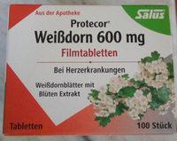 Protecor Weißdorn 600 mg - Produkt