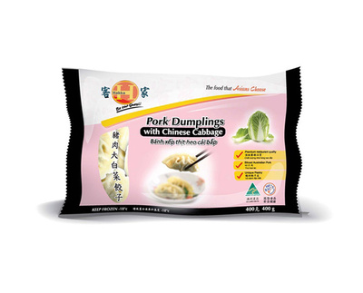 Pork Dumplings with Chinese Cabbage - Product