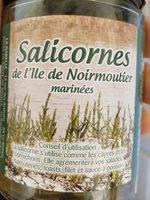 Salicornes de l'île de Noirmoutier marinées - Produit