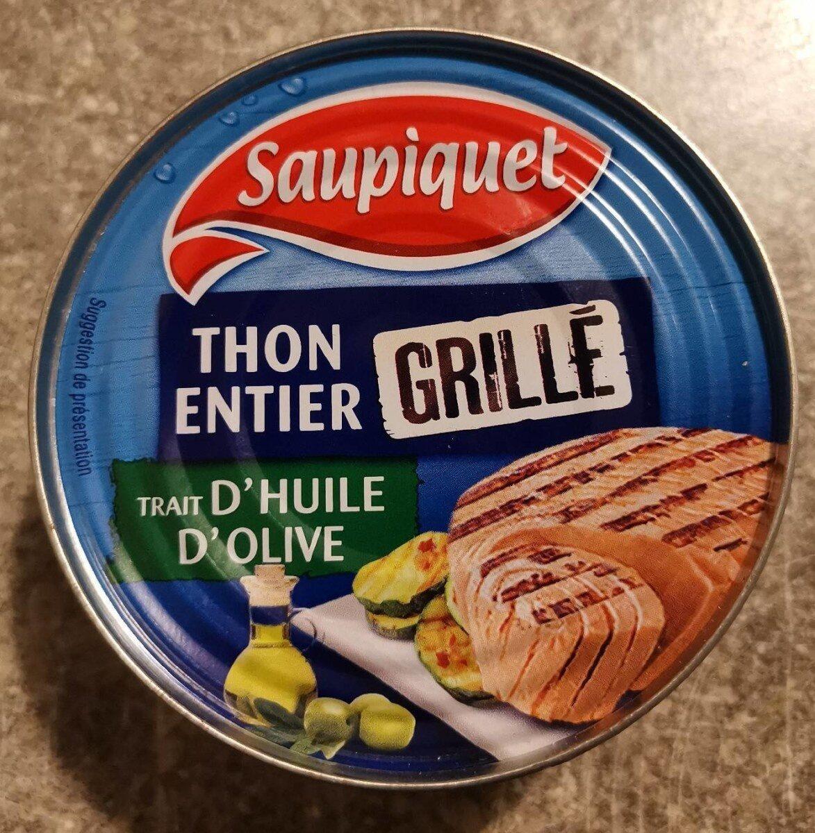 Thon entier grillé huile d'olive - Produit - fr