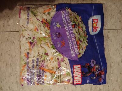 salade de chou colorée - Produit