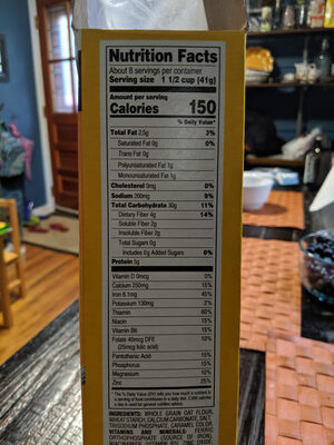 Crispy Oats - Nutrition facts - en