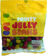 Mini Fruity JELLY BEANS - Product