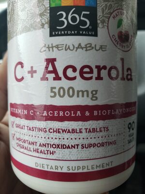 C  Acerola 500MG - Product