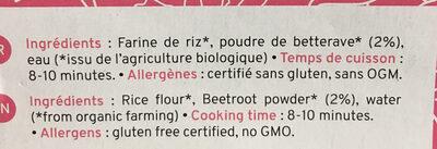 Beetroot - Ingrédients - fr