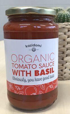 Sauce Tomate Basilic Bio Kazidomi - Product - fr