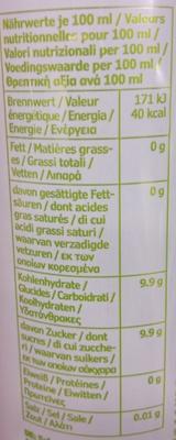 Cider Päron - Nutrition facts