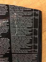 Boulettes de viande - Informació nutricional