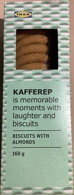 KAFFEREP biscuits aux amandes - Producto - es