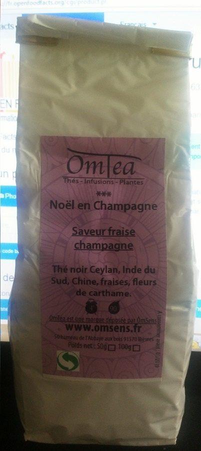 noël en champagne - Produit