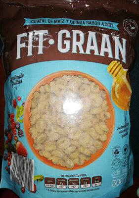 cereal de maíz y quinua sabor miel - Product