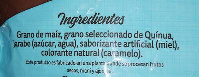 cereal de maíz y quinua sabor miel - Ingredients