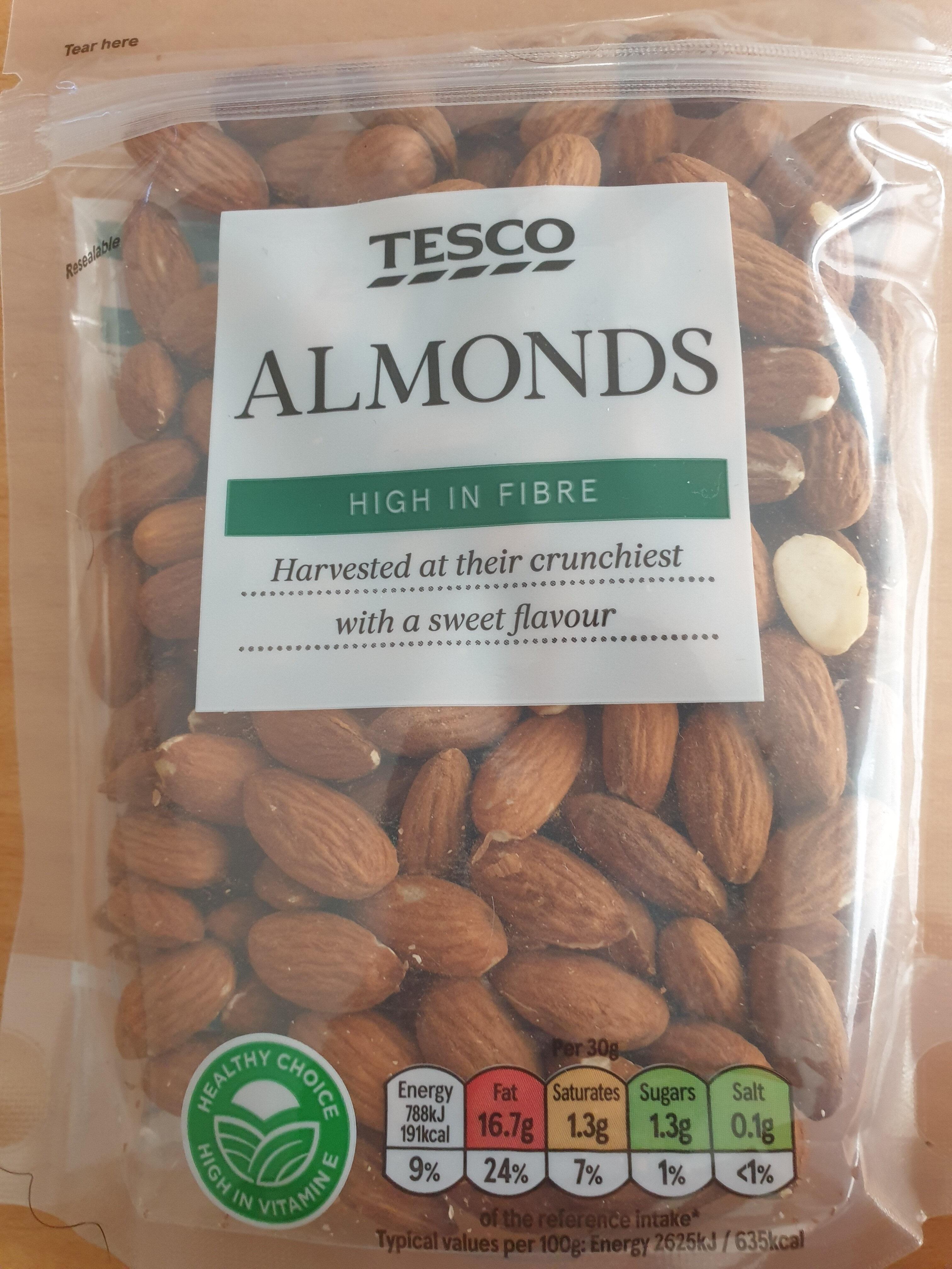 Tesco Almonds - Product - en